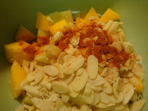 Fruit, nut & spice